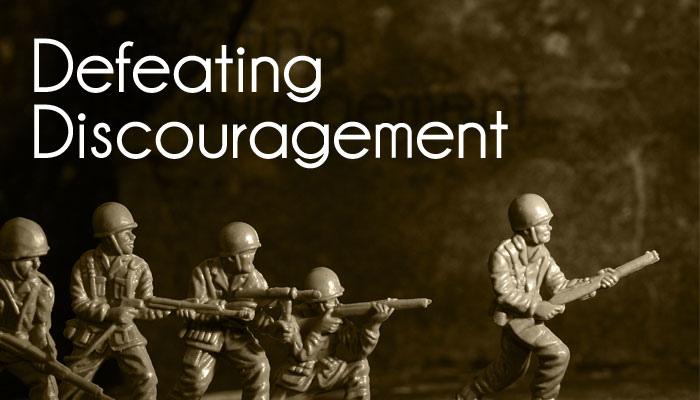 Deflecting Discouragement!
